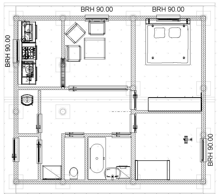 Как самому нарисовать план дома на компьютере